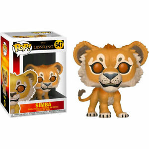 Lion-King-2019-Simba-Lion-Pop-Vinyl-Figure-NEW-Funko