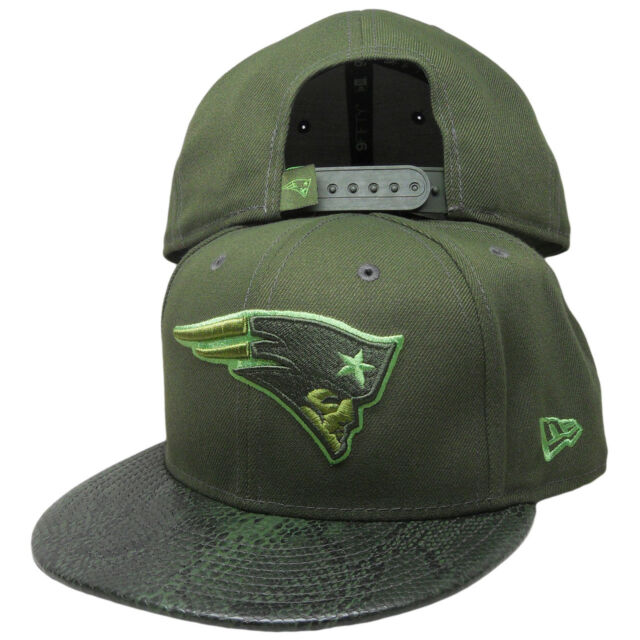 multiple colors casual shoes biggest discount NEW ENGLAND PATRIOTS NFL NEW ERA 9FIFTY SNAKESKIN SLEEK GREEN ...