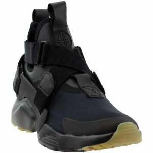 Nike-Air-Huarache-City-Casual-Running-Shoes-Black-Womens