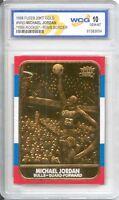 1986 Michael Jordan Fleer Rookie Card (special Edition Gold) Gem-mint 10 Rare