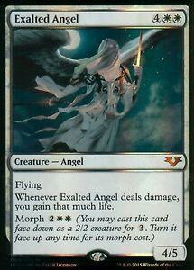 Exalted-Angel-FOIL-NM-From-the-Vault-Angels-Magic-MTG