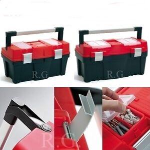 Werkzeugkoffer-Heimwerker-Werkzeugkasten-Werkzeugkiste-3-Groessen