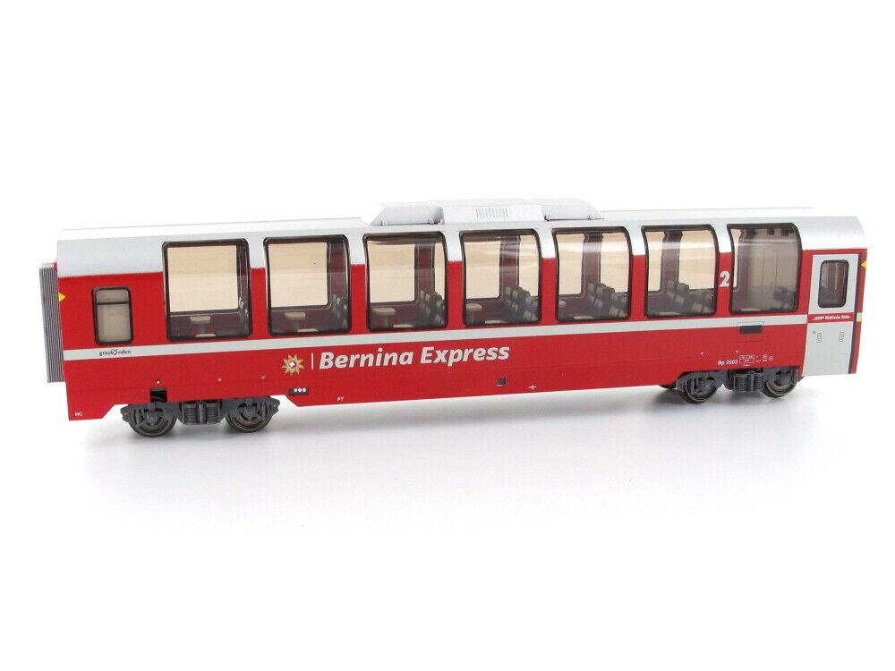 Bemo 3594143 vehículos implicados bp 2503 Bernina Express panorama coche 2.kl. RHB ac h0