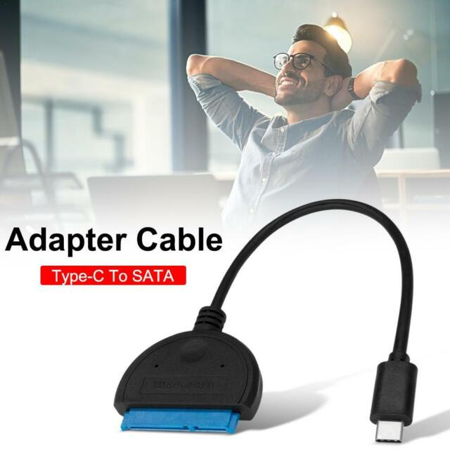 * USB Type-C 3.0 to SATA adapter cable 2.5//3.5-inch hard drive high-speed cable