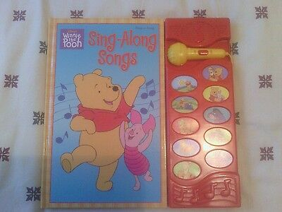 Disney's Winnie the Pooh Play-a-Song Sing Along Songs - spares or repair