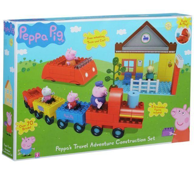 Peppa's Travel Adventure Construction Set