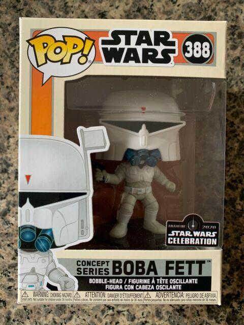 Funko POP! Boba Fett #388 Star Wars Celebration Anaheim Sticker