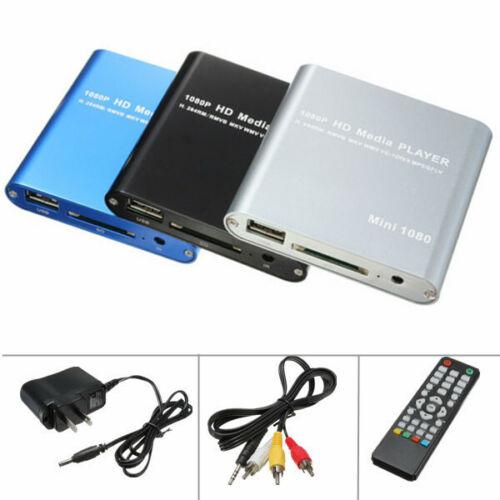 AV HD 1080P SD USB Multi Mini Media Player Für HDMI MMC MKV AVI Blau-ray