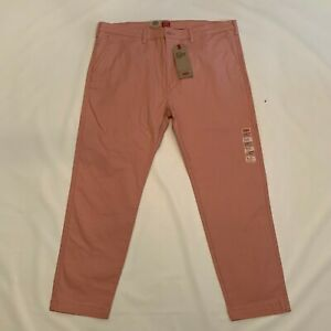 Levi's XX Chino Standard Taper Stretch Flat Front Chino Pants Men's Size 40x30