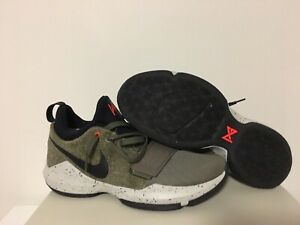 size 40 87618 89548 Details about Nike PG Paul George 1 Elements Green Size 10.5