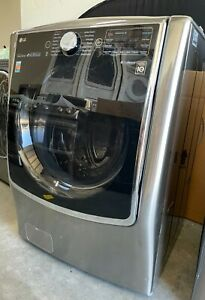 """LG WM9000HVA 29"""" Front Load Washer with 5.2 cu. ft. Capacity"""