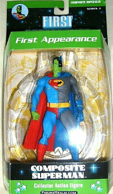 """DC ICONS SUPERMAN ACTION FIGURE New Sealed Measures 6/"""""""