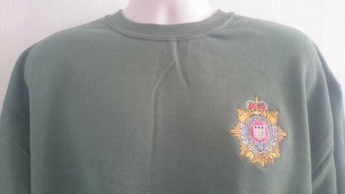 BRITISH ARMY RLC ROYAL LOGISTIC CORPS SWEATSHIRT