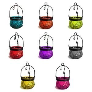 Image Is Loading Moroccan Style Hanging Gl Candle Lanterns Tea Light