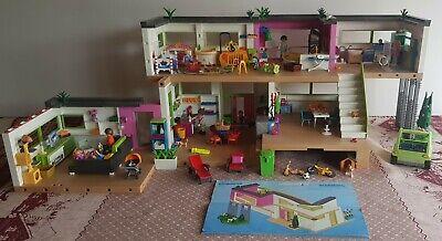 lot playmobil maison moderne 5574 + extension salle de bain et salon. | eBay