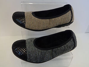 Damen-Taupe-Grau-Easy-B-Schuhe-Zuerich
