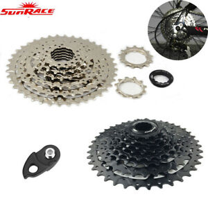 SunRace-11-40T-Cassette-8-9-Speed-Fit-Shimano-SRAM-MTB-Wide-Ratio-amp-Derailleur