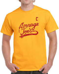 079-Average-Joes-mens-T-shirt-costume-dodgeball-funny-uniform-movie-vintage-new