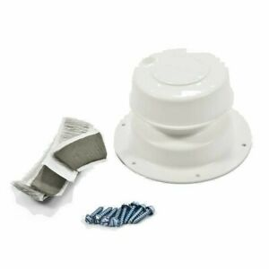 Details about Camco 40033 Roof Plumbing Vent Kit- Polar White RV Camper  Mobile Home Universal