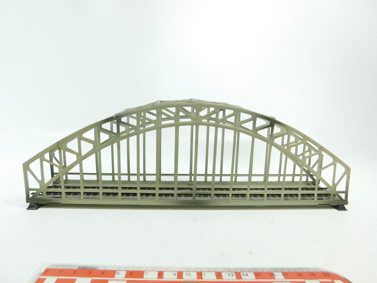 BF845-1    H0/Ac 467/2 Ponte ad Arco Acciaio con Terza Rotaia per 3600/800