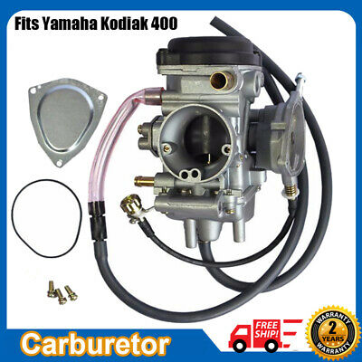 CARBURETOR FOR 1996 1997 1998 YAMAHA KODIAK 400 YFM 400 YFM400FW 4x4 CARB ATV