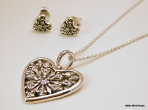 f6840654a Image is loading NWT-AUTHENTIC-PANDORA-HEART-OF-WINTER-NECKLACE-EARRINGS-
