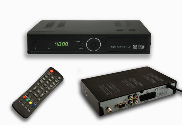 Digitaler Sat Receiver ideal ASTRA TURKSAT Satelliten Receiver DVB-S SCART USB