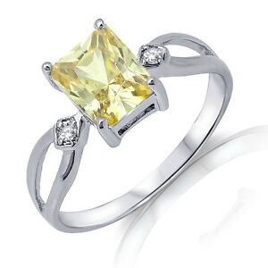 Traditional-Emerald-Cut-Yellow-Topaz-Genuine-Sterling-Silver-Ring-3-10-Ctw