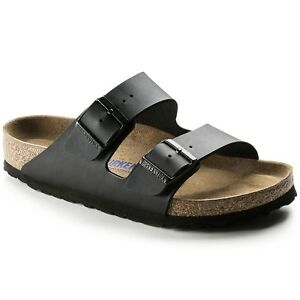 Image is loading Birkenstock-SLIPPER-BUCKLES-ARIZONA-BLACK-051793-black-mod- 7310384572d