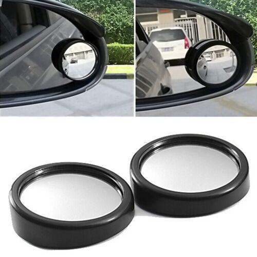 """2/"""" 360 Rotating Car Rearview Mirror 2 Pack Black DM0663"""