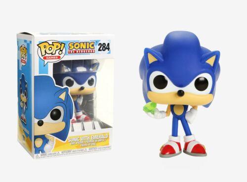 Sonic with Emerald Vinyl Figure #20147 Funko Pop Games Sonic the Hedgehog