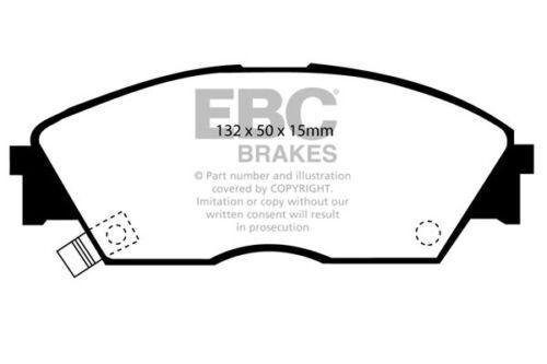 EBC Ultimax Front Brake Pads for Honda Civic CRX 1.6 ED9 87 /> 91