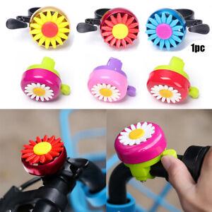 Chrysanthemum Bell Bicycle Horns Bike Daisy Flower Kids Girls Cycling Ring Hot*