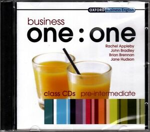 Oxford-BUSINESS-ONE-ONE-Pre-Intermediate-CLASS-AUDIO-CDs-NEW-amp-SEALED