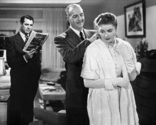 Cary Grant Louis Calhern Ingrid Bergman Notorious 8x10 Photo #74