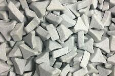 750 Pound Pallet USED Ceramic Tumbling Media XC Bond Angle Cut Cylinder