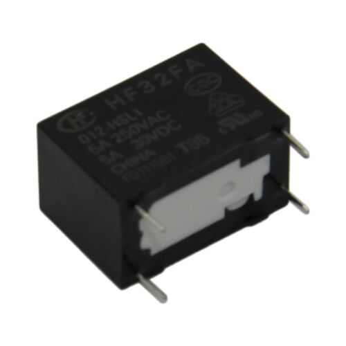 HF32FA//012-HSL1 Relay electromagnetic SPST-NO Ucoil12VDC 5A//250VAC HONGFA RELAY
