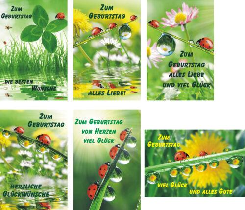 51-3050 Cartes d/'anniversaire carte d/'anniversaire félicitations cartes cartes de vœux