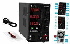Dc Power Supply Variable 30v 6a Adjustable Switching Regulated 0 30v0 6a