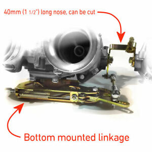 Throttle-linkage-LP1000-Bottom-Single-Cable-Dual-Weber-40-45-48-DCOE-Carburetors