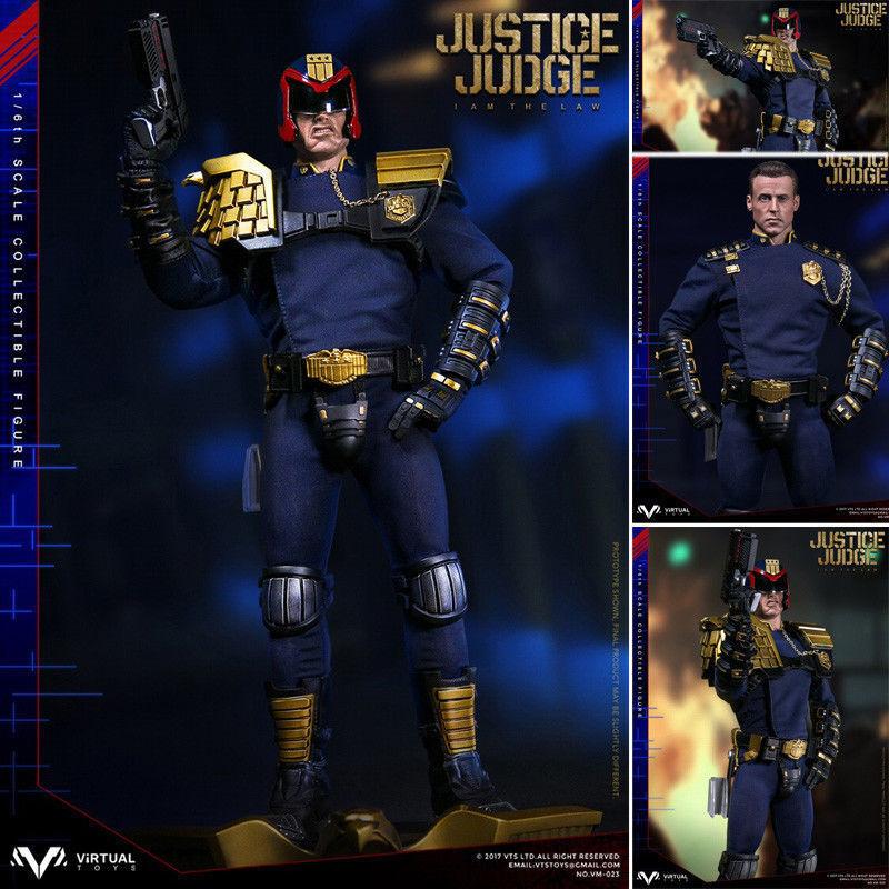 Vts spielzeug vm-023 1   6 des judge drotd polizist abbildung modellreihe