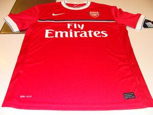 Team-Arsenal-2011-12-Soccer-Pre-Match-Top-English-Premier-League-NWT-XXL
