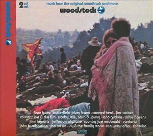 Woodstock by Various Artists (CD, Jun-2009, 2 Discs, Cotillion)