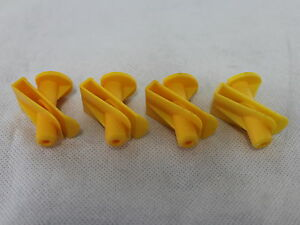 Genuine-Smart-Fortwo-Undertray-Yellow-Plastic-Screw-Clips-A0019913970-X4-NEW