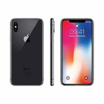 Apple iPhone X Software Unlocked GSM SmartPhone 64GB 256GB AT&T T-mobile