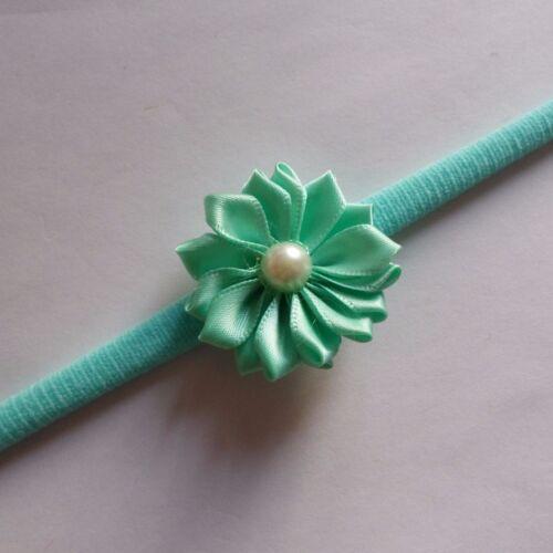 Baby Headbands Flower Headband Hairband Soft Hair Accessories One Size