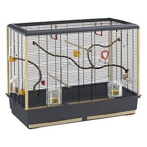 Petite cage à oiseaux Budgies Pinsons zébrés Canaris Attractifs Spacieux Extras 3108140159606