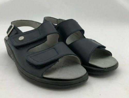 Biotime Womens Leather SandalsAndrea StyleRemovable Leather Orthotics