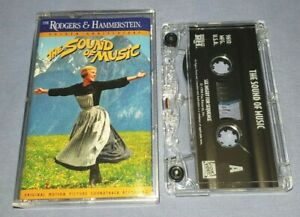 THE SOUND OF MUSIC ORIGINAL MOTION PICTURE SOUNDTRACK cassette tape album T9236