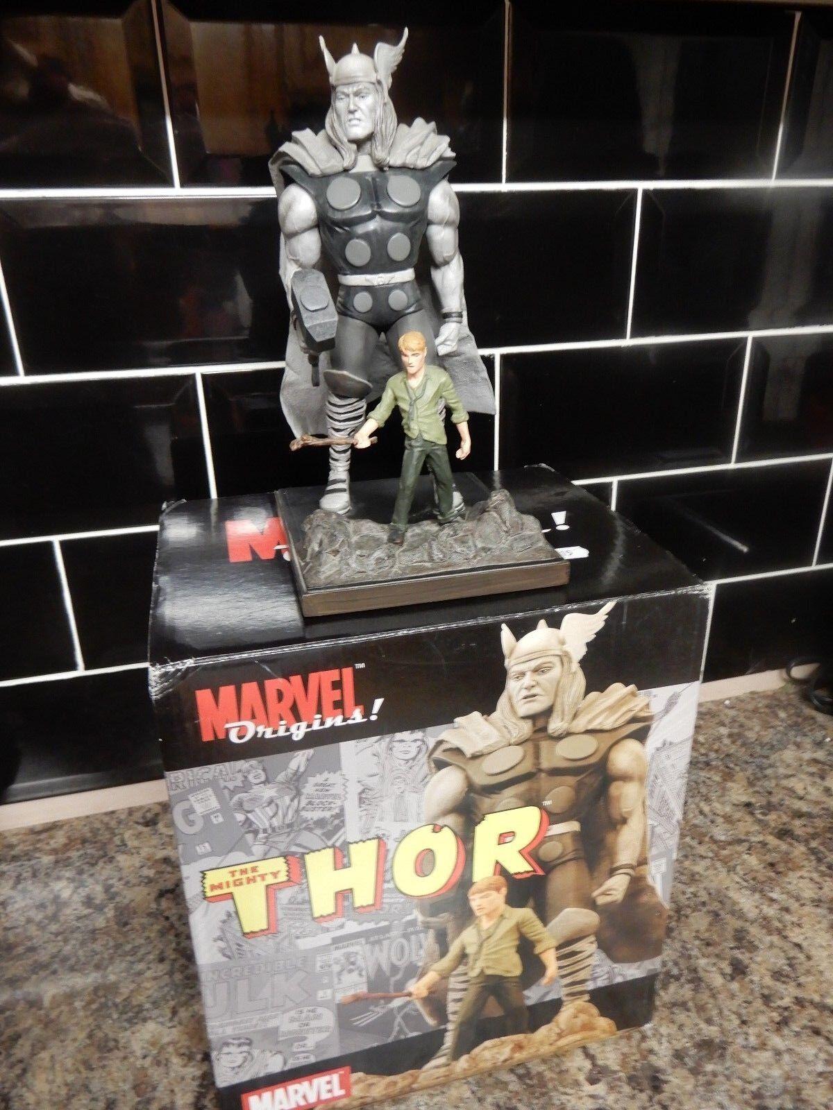 Marvel Orígenes estatua de Thor